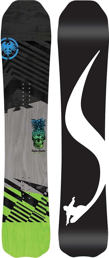 Never Summer Insta/Gator Rocker Camber Snowboard, 142cm LT 2019