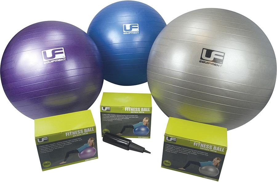 Urban Fitness Equipment 500KG Burst-Resistant Fitness Ball, M Blue