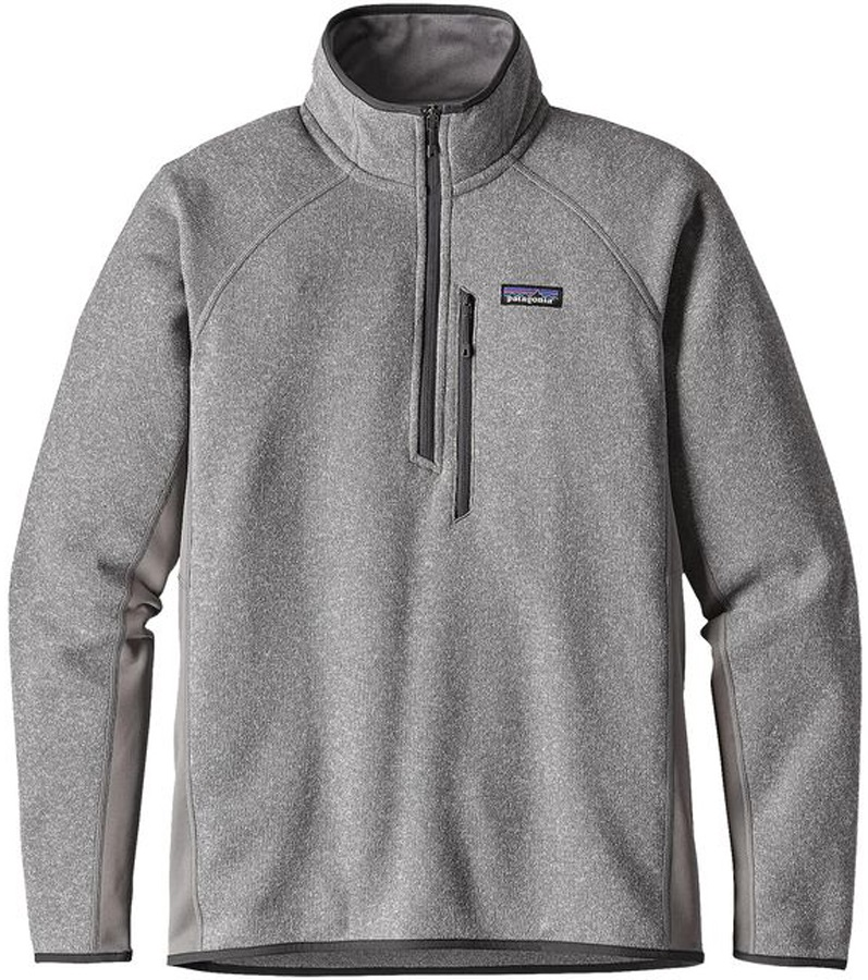 Patagonia Performance Better Sweater Fleece 1/4 Zip S Feather Grey