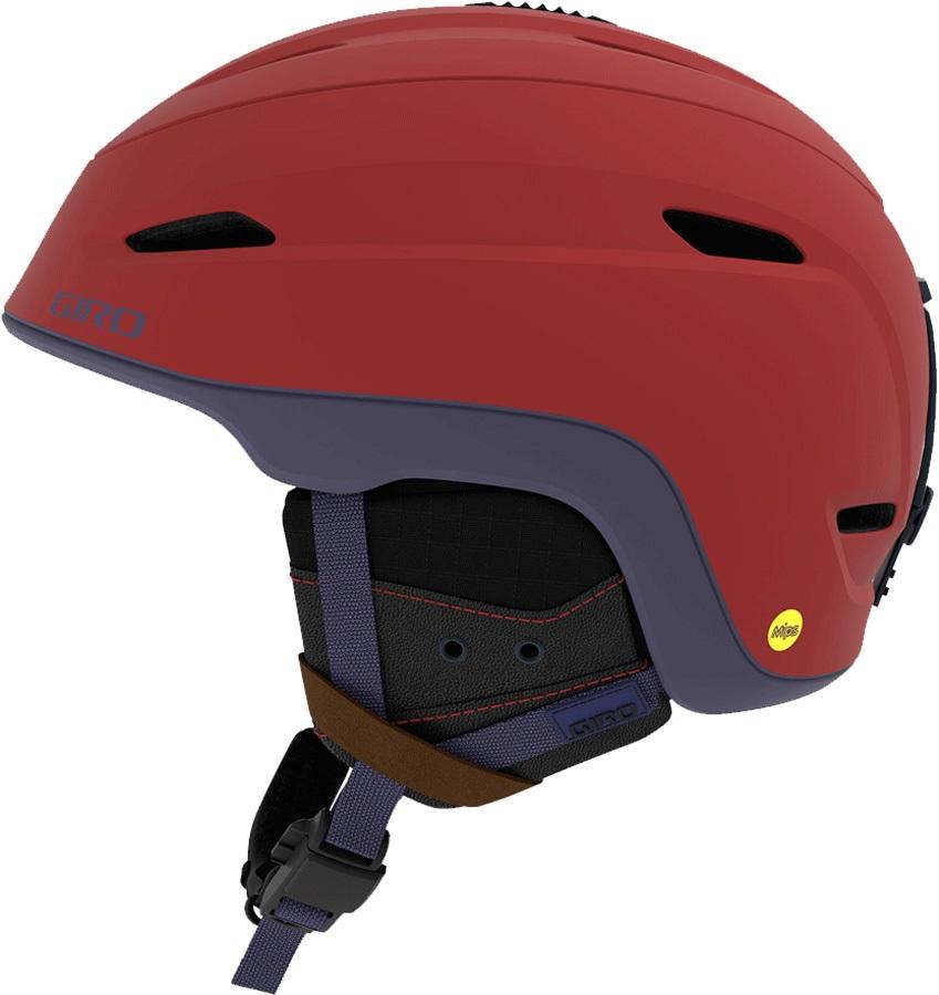 Giro Zone MIPS Snowboard/Ski Helmet, L Matte Dark Red/Midnight