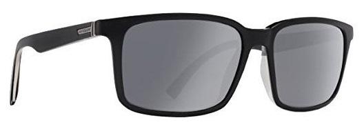 Von Zipper Pinch Grey Chrome Lens Sunglasses, Black Satin