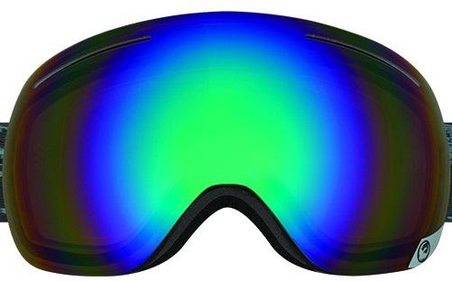 Dragon X1 Snowboard/Ski Goggle Spare Lens, One Size, Opt Flash Green