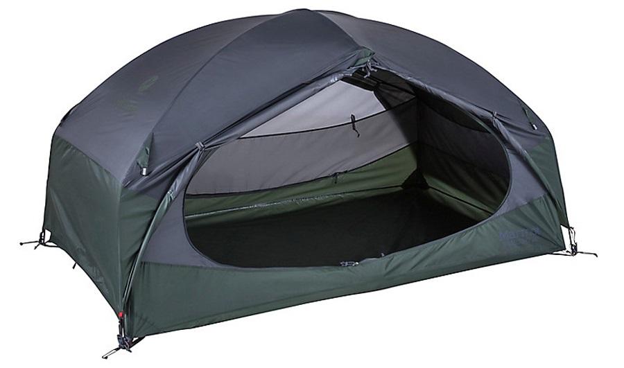 Marmot Limelight 2 Tent Lightweight Camping Shelter, 2 Man Grey/Green
