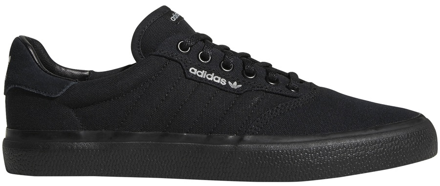 Adidas 3MC Men's Trainers Skate Shoes, UK 6 Black/Black/Grey