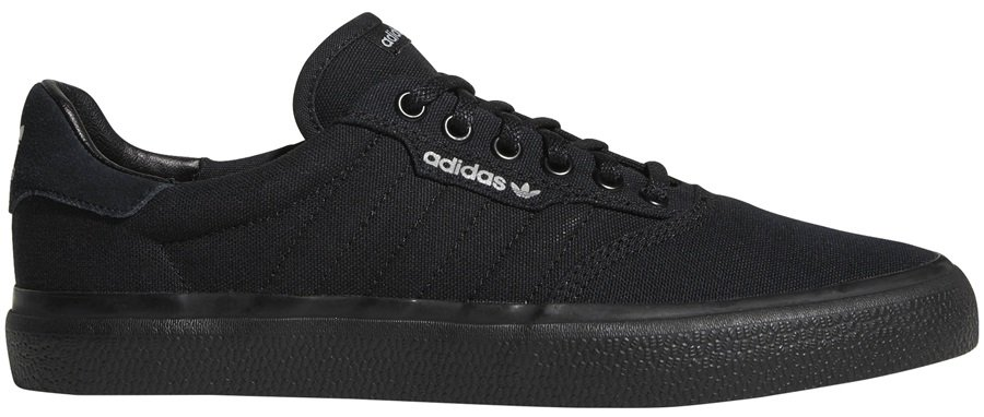 Adidas 3MC Men's Trainers Skate Shoes, UK 5 Black/Black/Grey