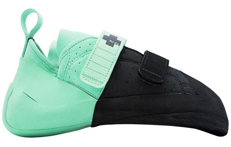 So iLL The Street LV Low Volume Rock Climbing Shoe, UK 4 Blue/Black