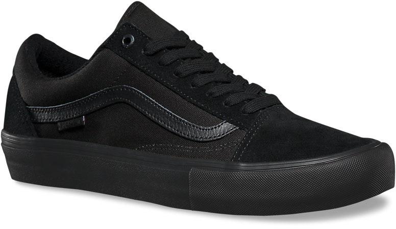 Vans Old Skool Pro Skate Shoes UK 12 Blackout
