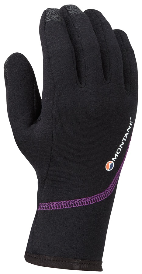 Montane Power Stretch Pro Women's Thermal Glove, L Black