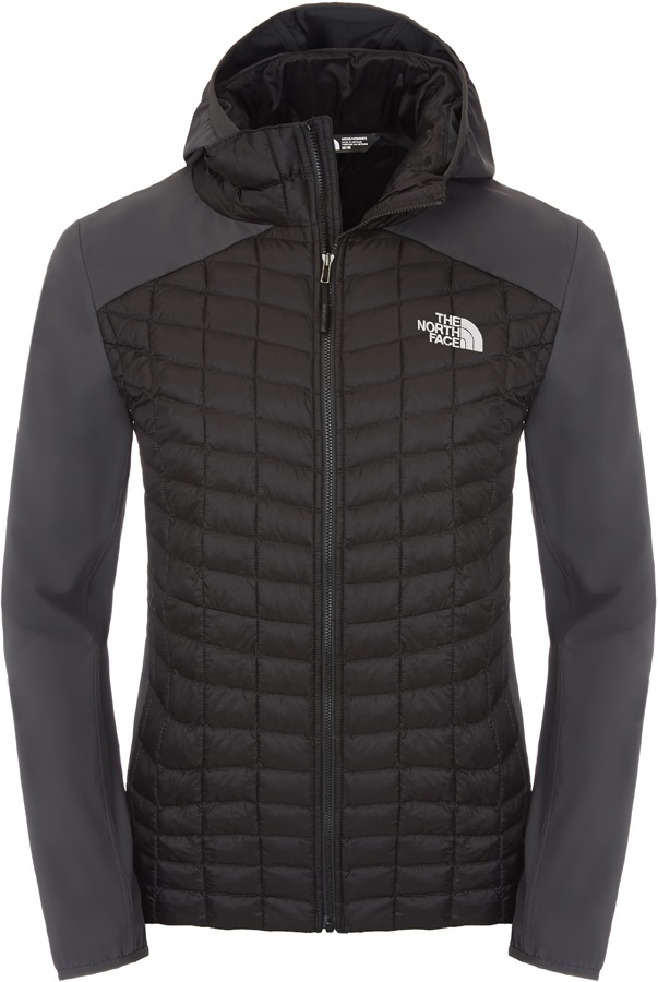 beca44248 The North Face Thermoball Hybrid Hoodie Insulated Jacket, XL, Black