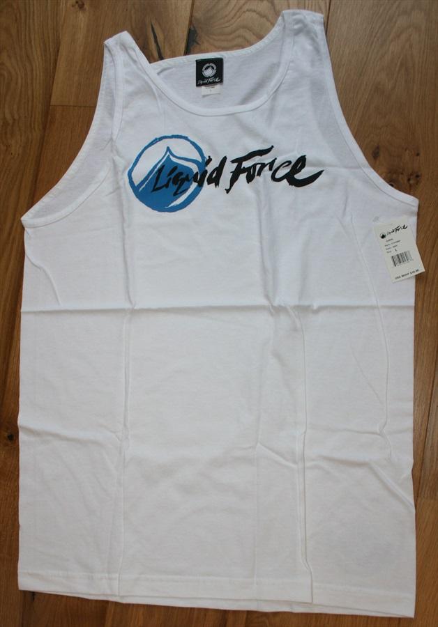 Liquid Force Corpo Style T Shirt Vest Top, L White