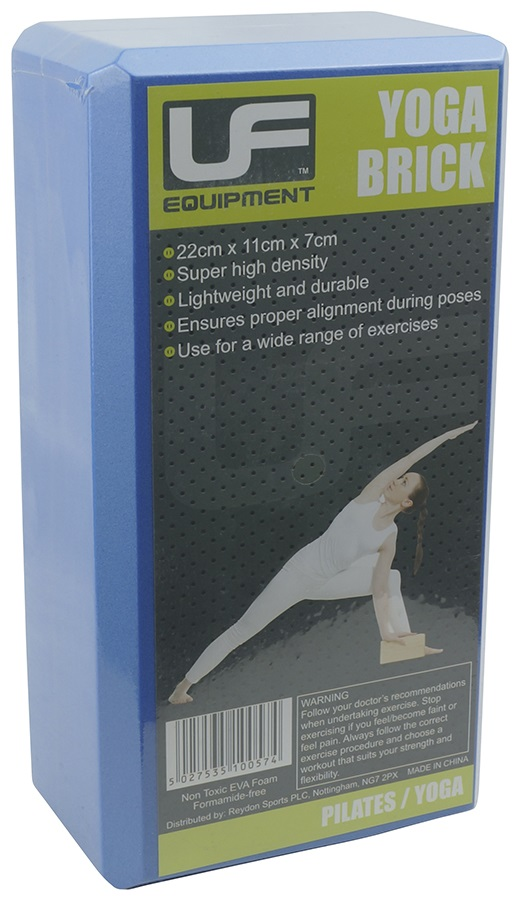 Urban Fitness Equipment EVA Yoga Brick, Blue