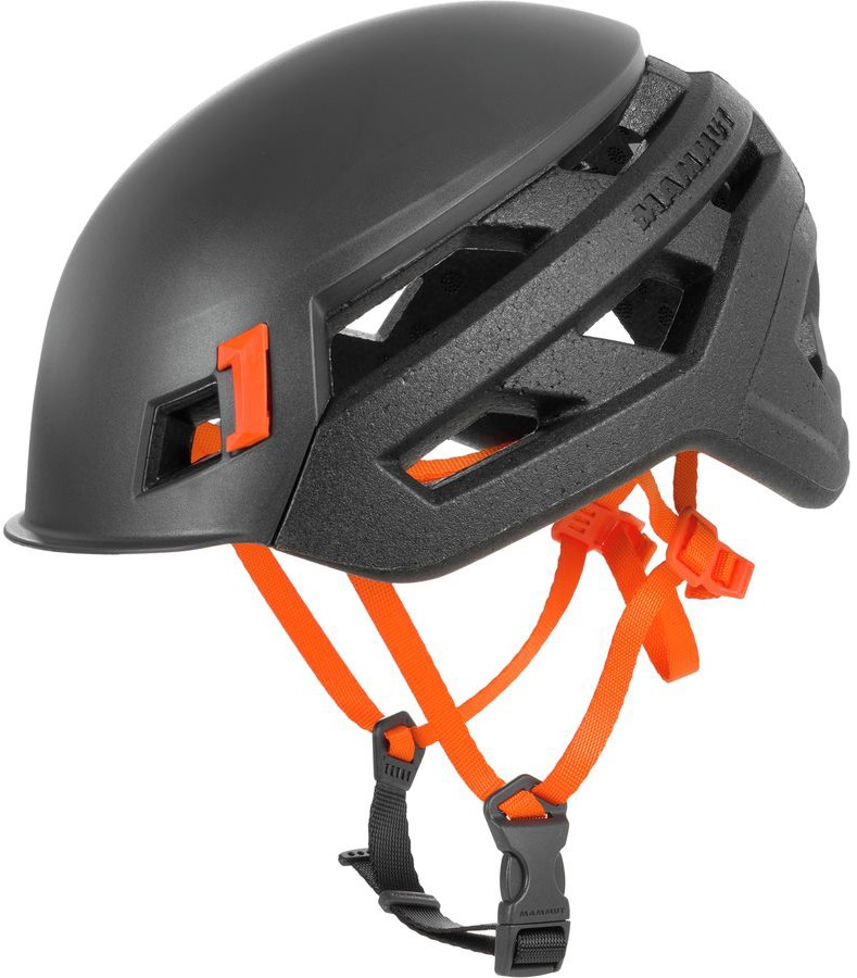 Mammut Adult Unisex Wall Rider Rock Climbing Helmet, 52-57cm Night