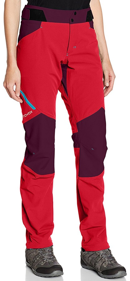 the best attitude af2cd f3c11 Ortovox (MI) Pala Pants Women's Climbing Trousers, UK 8 Hot Coral