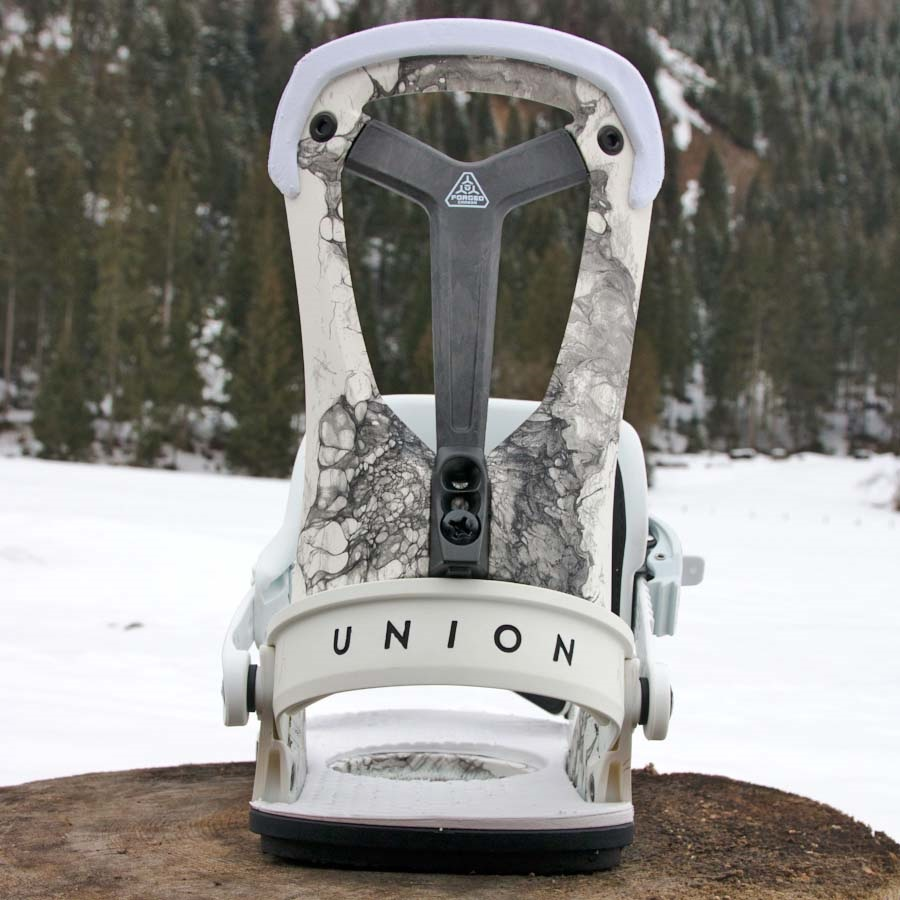 Union Falcor Snowboard Bindings, M Black 2020