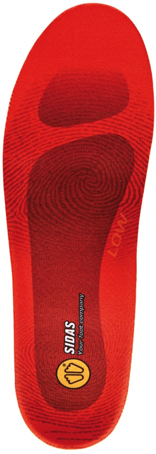 Sidas Winter 3Feet Low Ski/Snowboard Boot Insoles, M Orange