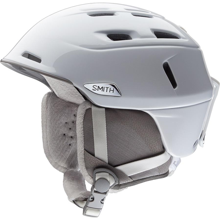 Smith Compass Women's Snowboard/Ski Helmet, S Pearl White
