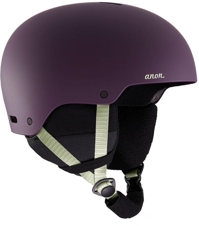 Anon Greta 3 Women's Ski/Snowboard Helmet, S Purple