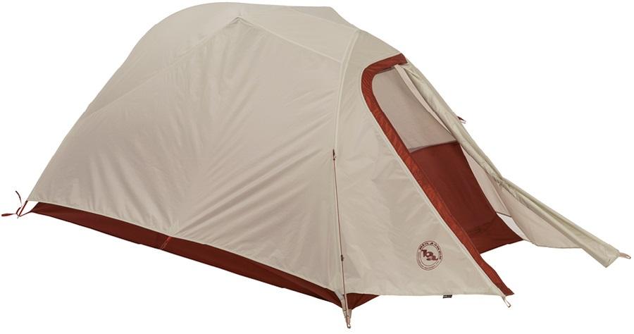 Big Agnes C-Bar 2 Lightweight Backpacking Tent, 2 Man Red