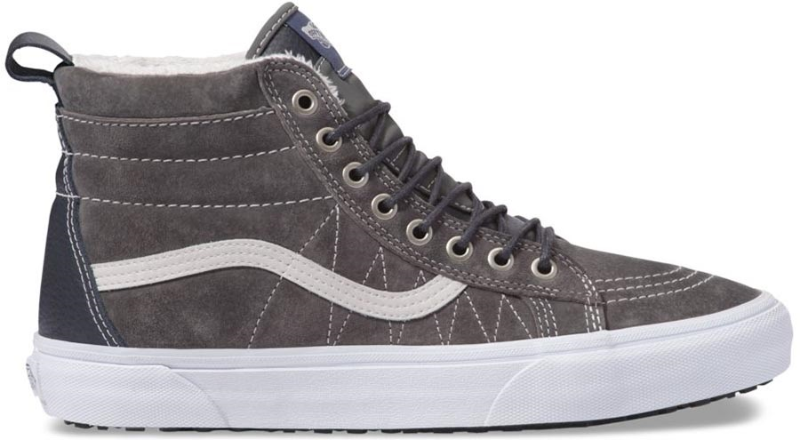Vans Sk8-Hi MTE Skate Shoes, UK 8 Pewter/Asphalt