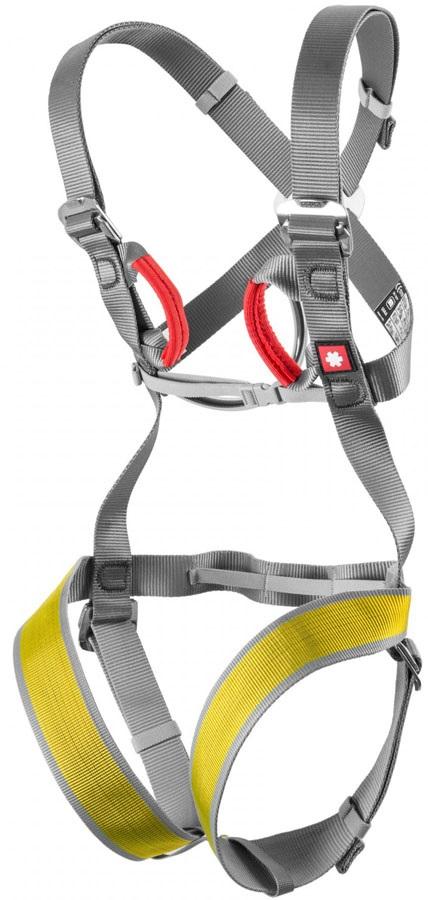 Ocun Child Unisex Mojo Kids Full Body Harness, 30-55cm Grey/Yellow