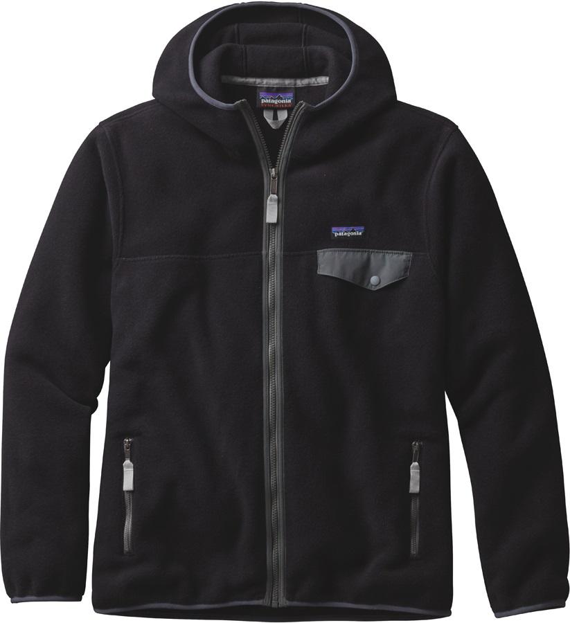 Patagonia Synch Snap-T Hoody Men's Fleece S Black