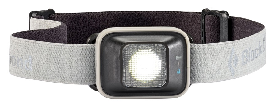 Black Diamond Iota 150 Lumen LED Headlamp, Adjustable, Nickel
