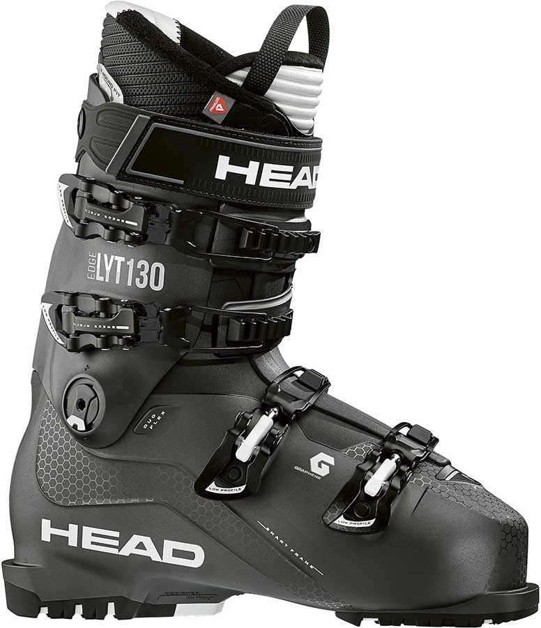 Head Edge LYT 130 Ski Boots, 30/30.5 Black/White 2020