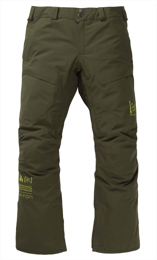 Burton [ak] 2L Swash Gore-Tex Ski/Snowboard Pants, L Forest Night 2020