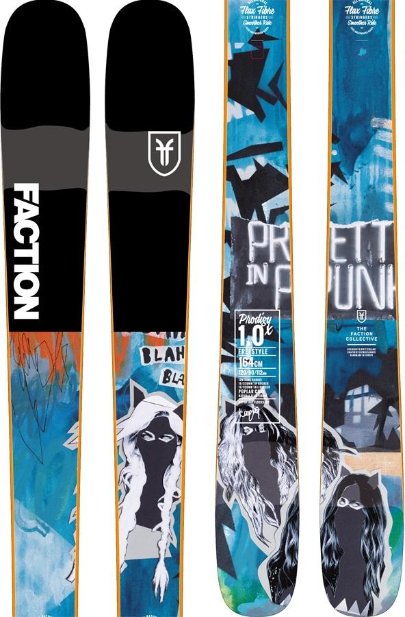 Faction Womens Prodigy 1.0 Ski Only Skis, 170m X 2019