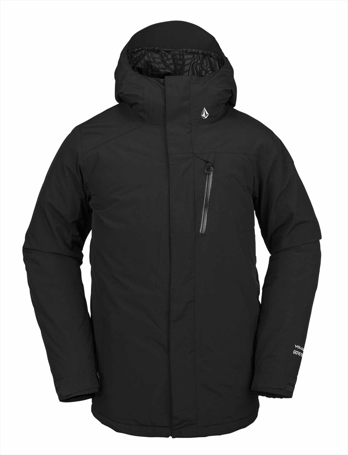Volcom L Gore-Tex Snowboard/Ski Jacket L Black