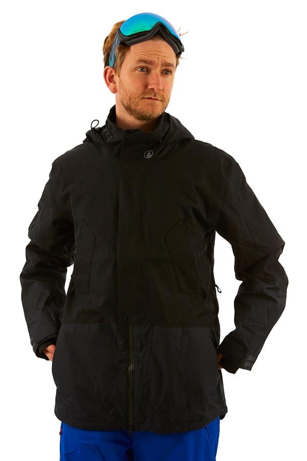 Volcom Pat Moore 3-in-1 Ski & Snowboard Jacket, M Black
