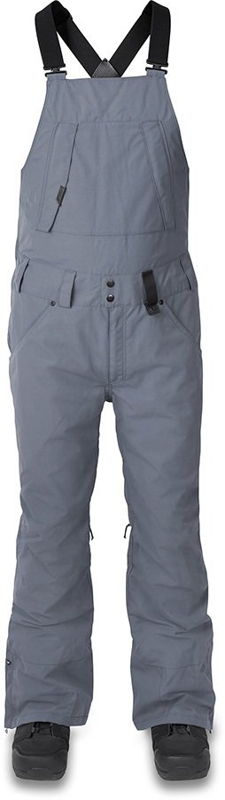 Dakine Wyeast Bib 2-Layer Shell Ski/Snowboard Pants, L Dark Slate