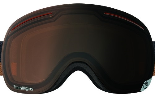 Dragon X1 Snowboard/Ski Goggle Spare Lens, One Size, Transition Amber