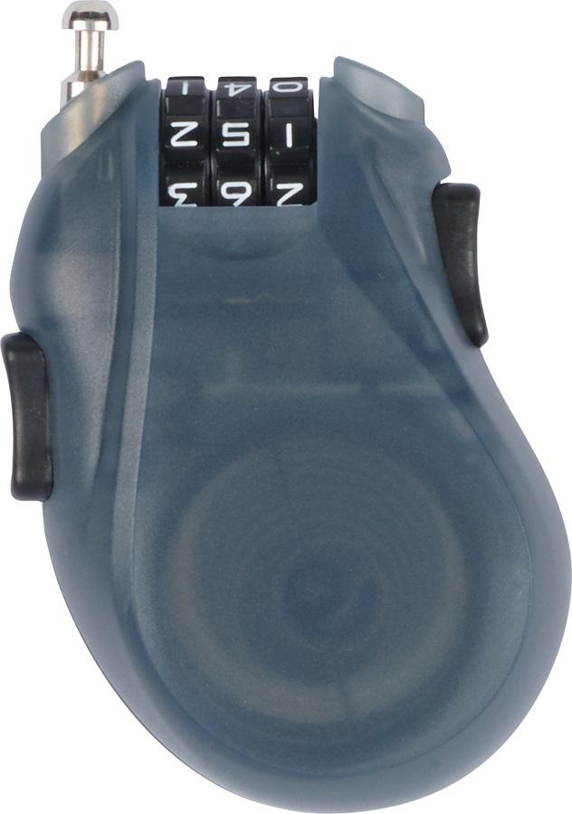 Burton Cable Lock Snowboard Lock Translucent Black