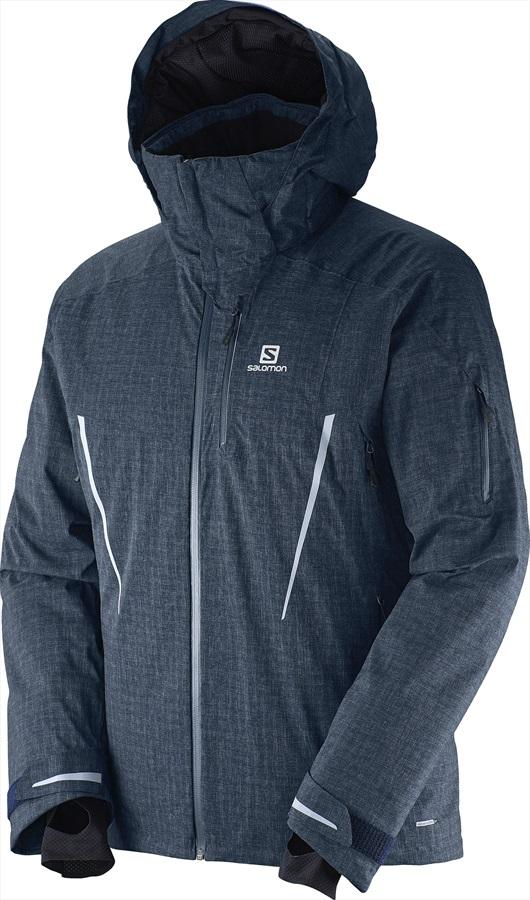 Salomon Speed + Ski/Snowboard Jacket S Big Blue-X