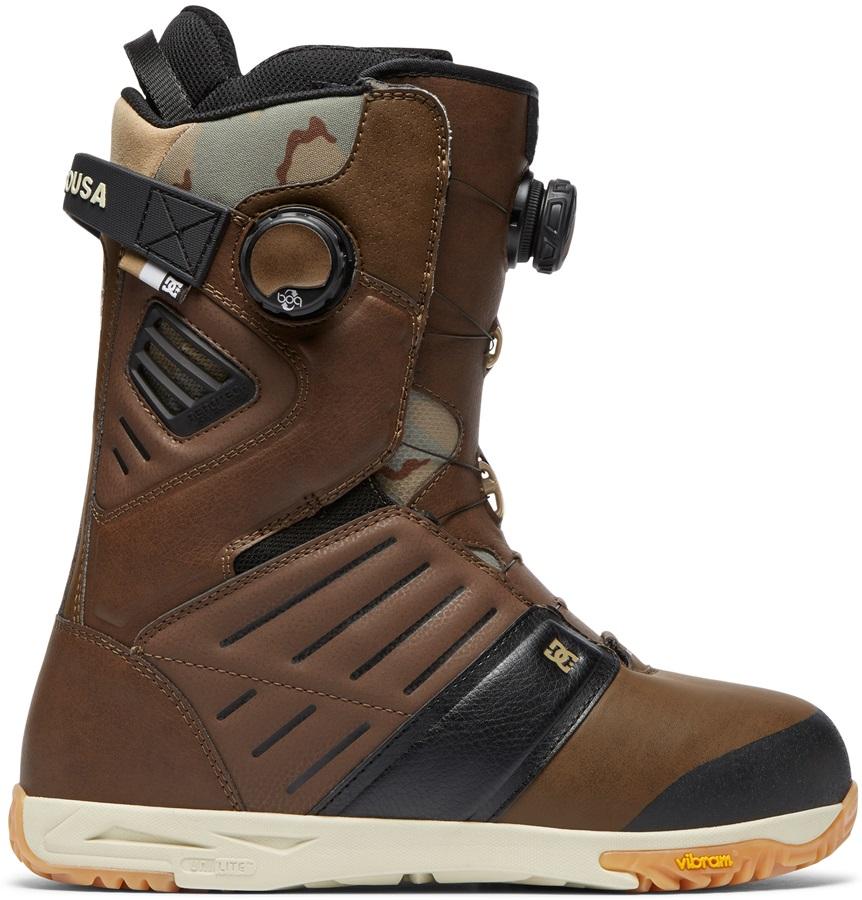 DC Judge Boa Snowboard Boots, UK 8 Brown 2019