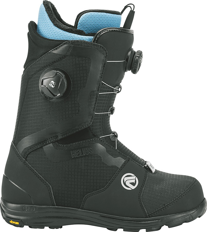 Flow Helios Focus Snowboard Boots, UK 5.5 Black 2018