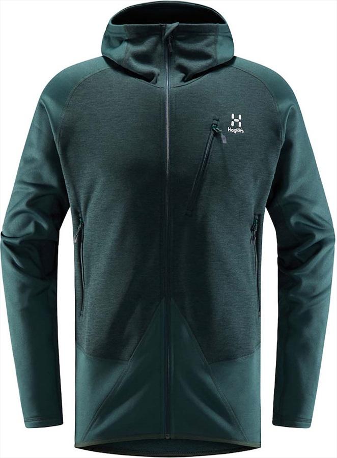 Haglofs Spire Mid Hood Lightweight Breathable Jacket, S Mineral
