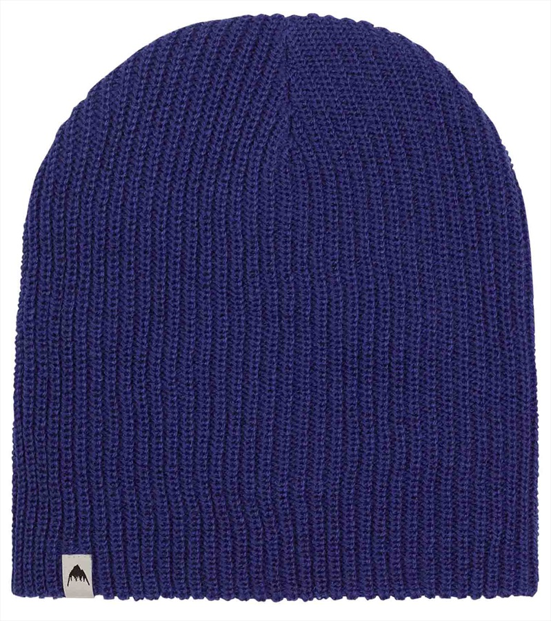 Burton All Day Long Slouch Ski/Snowboard Beanie, One Size Royal Blue