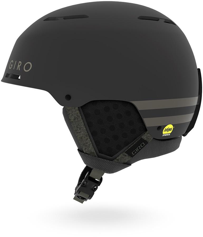 Giro Emerge MIPS Snowboard/Ski Helmet, L Matte Black/Olive