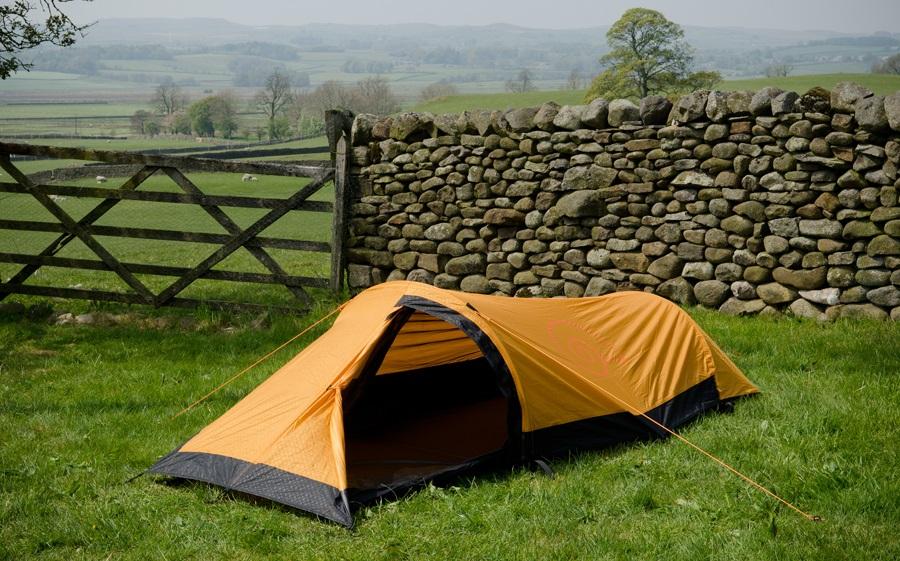 Snugpak Journey Solo Tent Lightweight Backpacking Tent, 1 Man Sunburst