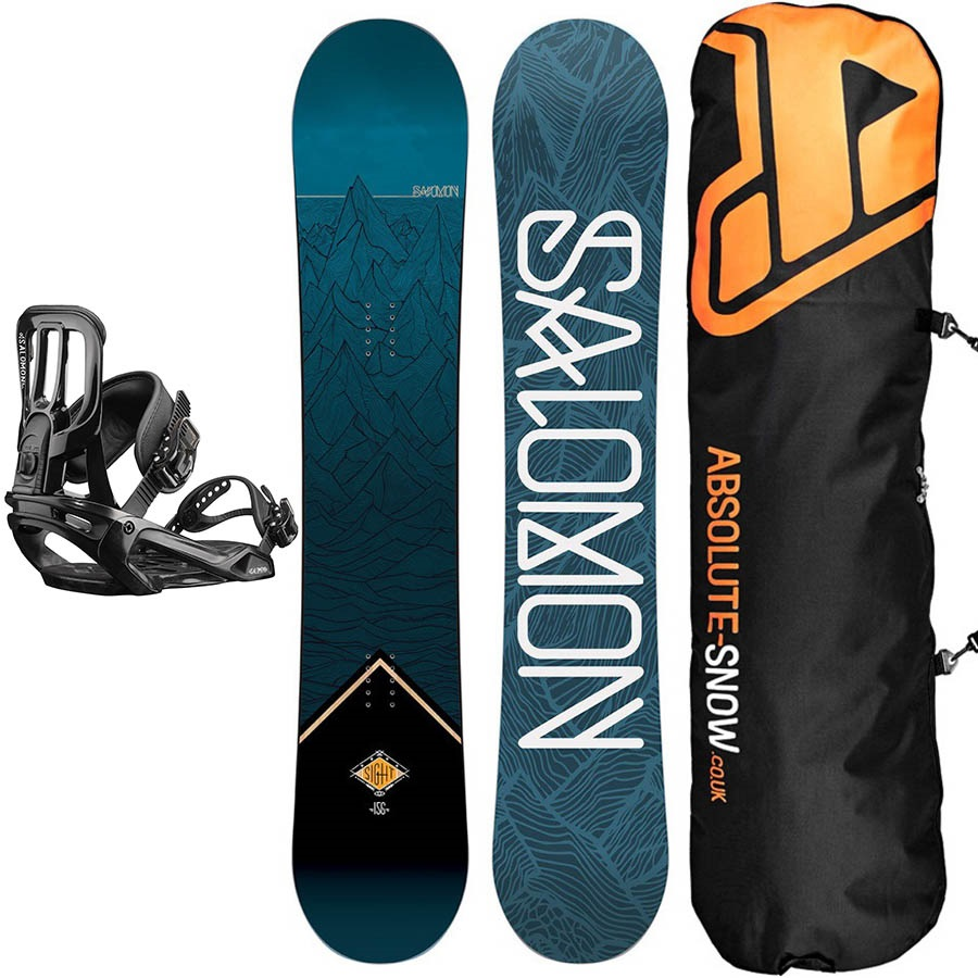 Salomon Sight | Pact Snowboard Package, 147cm | Medium