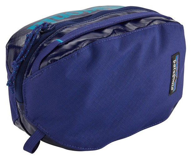 Patagonia Small Black Hole Cube Duffel Travel Bag, 2L Cobalt Blue