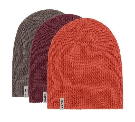 Burton DND 3-Pack, One Size Grey/Mauve/Orange