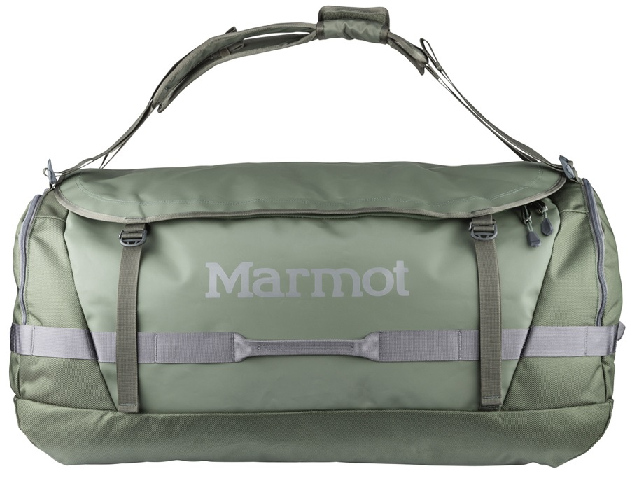 Marmot Long Hauler Expedition Duffel Travel Bag, 125L Crocodile/Cinder