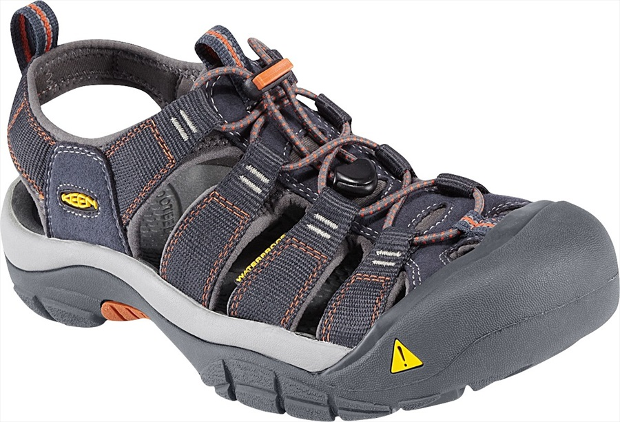 Keen Adult Unisex Newport H2 Walking Sandals, UK 12 India Ink/ Rust