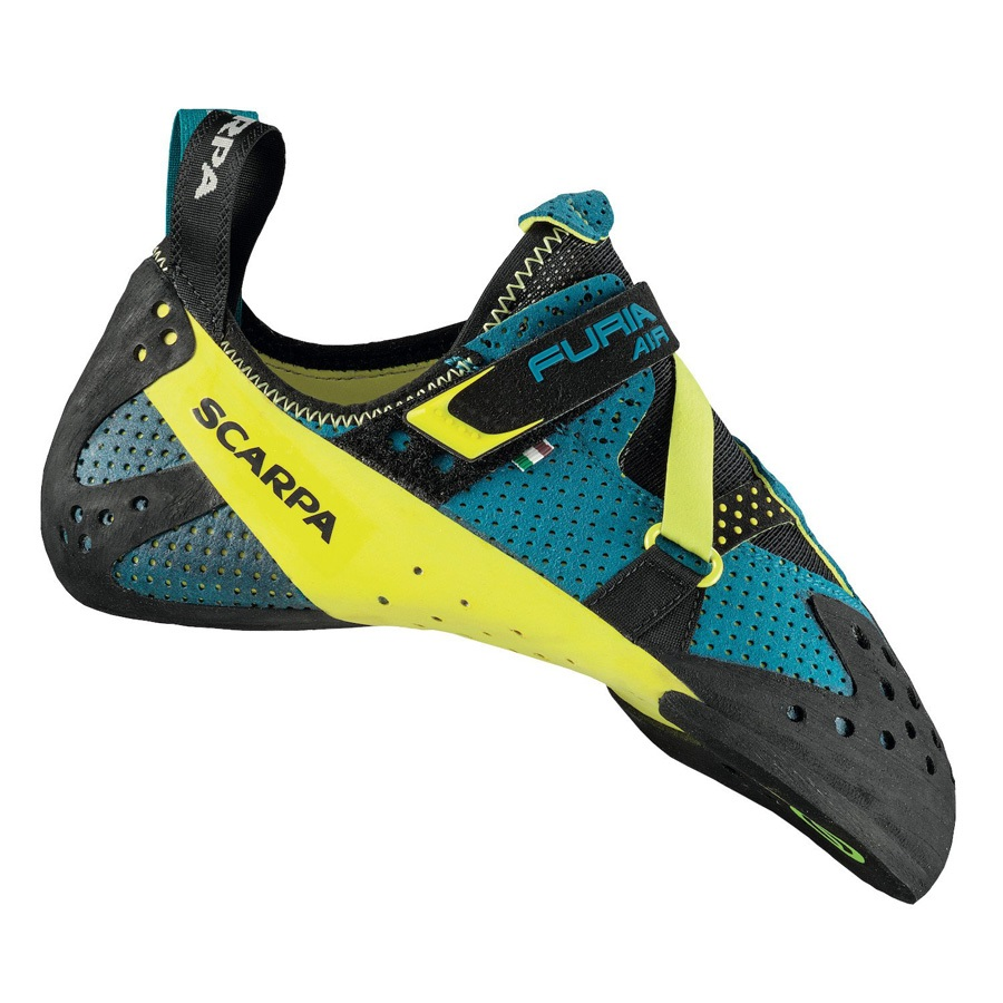 Scarpa Furia Air Rock Climbing Shoe: UK 8.5 | EU 42.5, Baltic Blue
