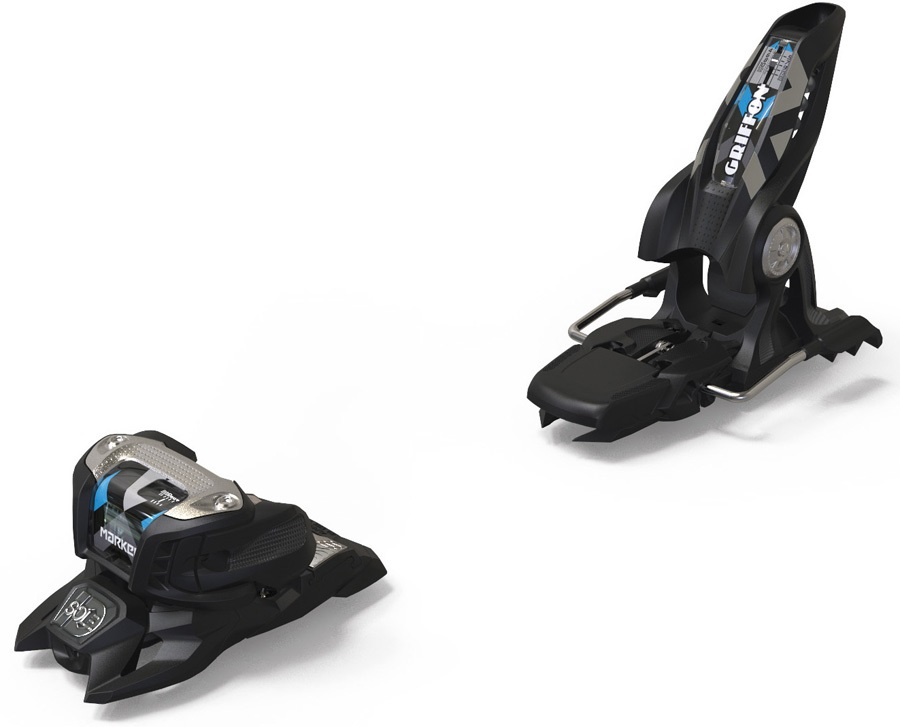 Marker Adult Unisex Griffon 13 ID Ski Bindings, 100mm Black/Blue