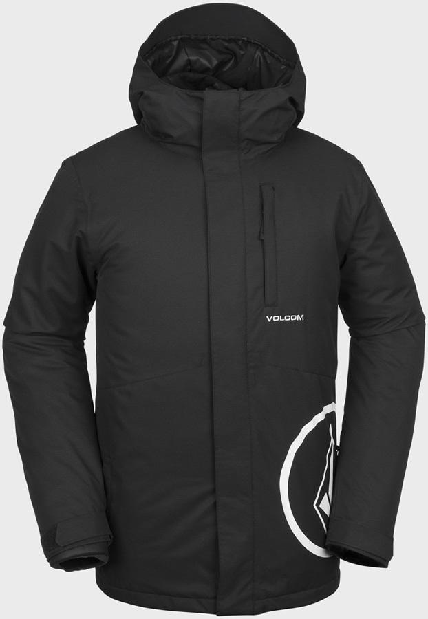Volcom 17 Forty Insulated Ski & Snowboard Jacket, S Black