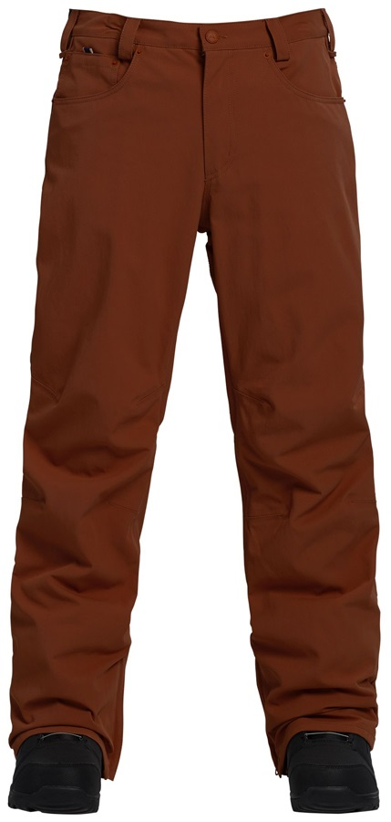 Burton Wolfeboro Snowboard/Ski Pants Trousers, L Chestnut Brown